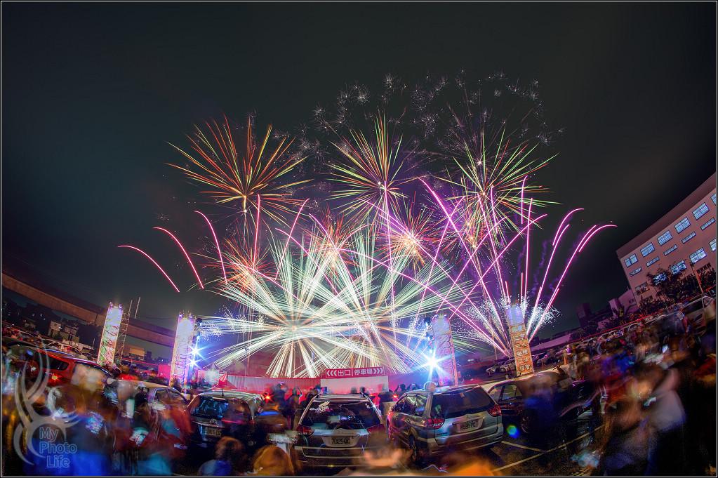 2021樹林興仁夜市.百萬跨年煙火6565