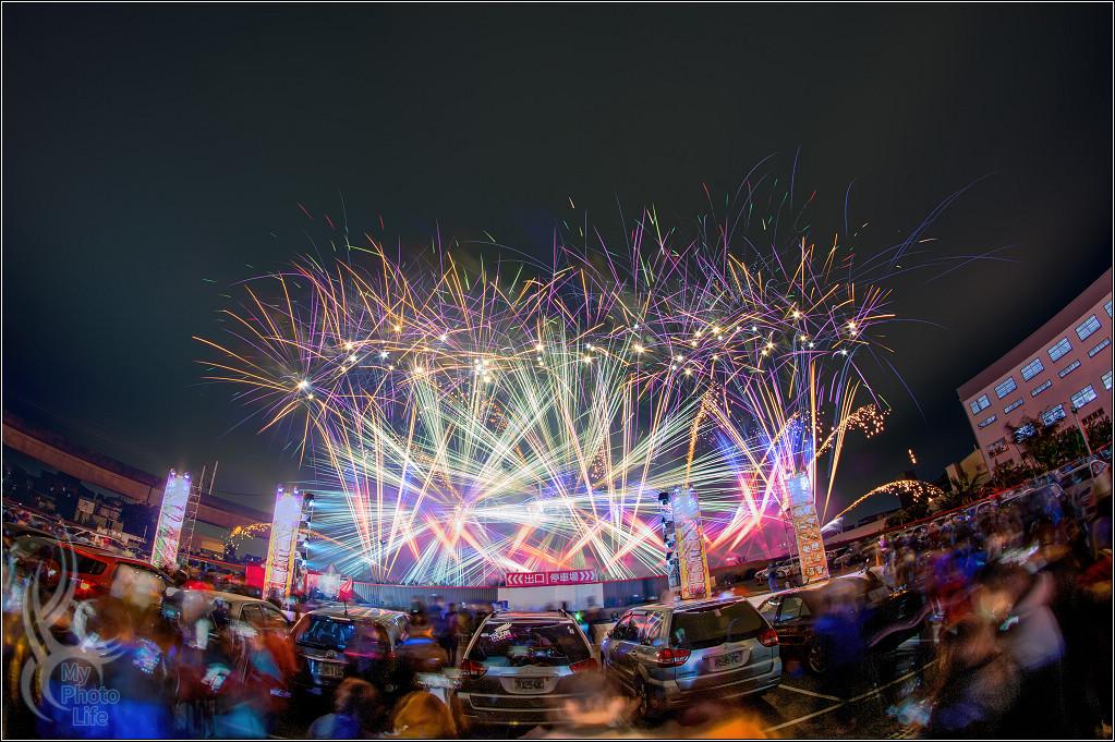 2021樹林興仁夜市.百萬跨年煙火82